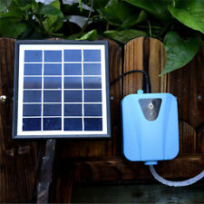 Solar Powered Panel Oxygen Oxygenator Air Pump Aerator Water Pond Fish Tank