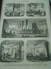 Gravure 1862 - Industries Manufacture d'Orgues Maison Alexandre
