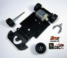 SRC 1:32 PORSCHE 907 L K CHASSIS + MOTOR 24.000 RPM + COMPLETE WHEEL AXLES