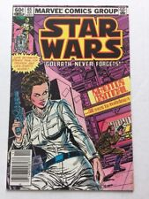 "Star Wars Marvel Comic. Issue #65. ""Golrath Never Forgets"". November 1982"