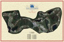 The Concession GC 2006- Jack Nicklaus & Tony Jacklin - Vintage Golf Course Map