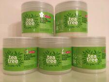 5 PACKS OF 40 Superdrug TEA TREE Facial Face Cleansing Pads - 160 Pads - 5 PACKS