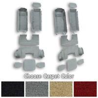 1997-2004 C5 Corvette Complete Cutpile Replacement Carpet with Pad- Choose Color