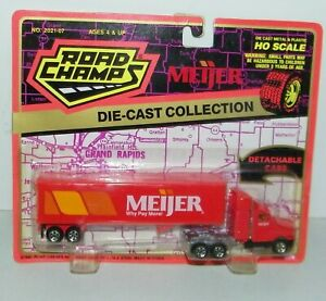 Road Champs Meijer Tractor Trailer Semi 1/87 HO Scale Diecast Collection Truck
