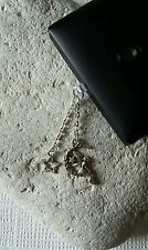 Fairy Sat In The Moon Dangle Charm For Mobile Phone. Tablet. Iphone. Dust Plug.