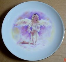 The Leonardo Collection Collectors Plate ANGEL WHISPERS - THE ANGEL OF HOPE