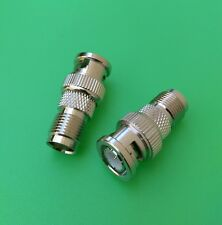 (10 PCS) TNC Female to BNC Male to Connector - USA Seller
