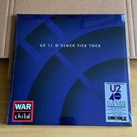 "U2 - 11 O'Clock Tick Tock RSD 2020 12"" 180g blue vinyl"