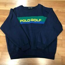 Vintage Polo Golf Ralph Lauren Mens Spellout Sweater Mens XL