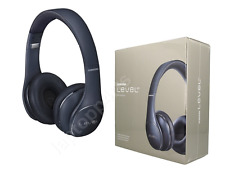 Genuine Samsung Level Wireless HQ On Ear Stereo Deep Bass Headphones Blue/Black