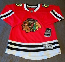 BLACKHAWKS NHL HOME RED JERSEY | New With Tags | Women's L/XL (could fit youth)