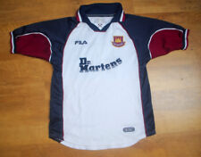 Fila West Ham United 1999/2001 Cole away shirt (Size XLB)