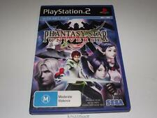 Phantasy Star Universe PS2 PAL Preloved *Complete*