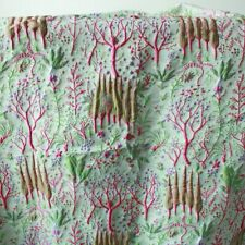 Lovely Embossed Plants Brocade Jacquard  Fabric for Curtain Upholstery By Yard