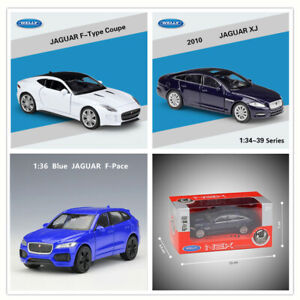 WELLY 1:36 JAGUAR F-Type / F-Pace / XJ Diecast Pull Back Car Model Collection