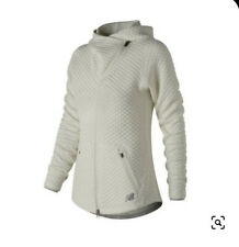New Balance Womens NB Heat Loft Asym Jacket Ivory Size M