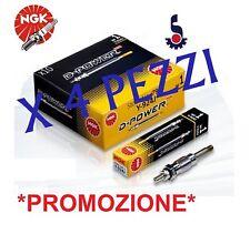 KIT 4 CANDELETTE NGK FIAT 1.9 D MJTD BRAVO /CROMA / GRANDE PUNTO /STILO Y1030J