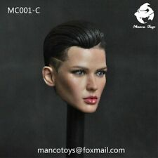 "1/6 Ruby Rose Bodyguard Head Sculpt Carving  MC001-C Fit 12"" Female Figure Toys"