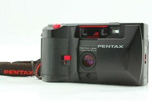 [Near MINT] Pentax PC35 AF-M Date Film Camera Point & Shoot w/ Strap From JAPAN