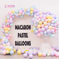 "100 Quality Macaron balloons 5"" Small Round Latex Balloon Choose Colour 9 baloon"