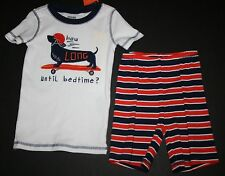 New Gymboree Gymmies How Long Until Bedtime Dog PJs Size 4 NWT Pajamas Shorts