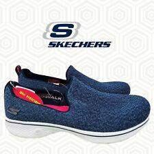 Skechers Ladies' Go Walk 4 Slip on Shoe Navy 6 Priority