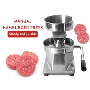 ITOP Presse à hamburger Maker Machine à burger Heavy Duty Diamètre 100mm
