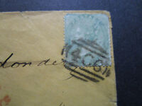 Great Britain SG# 72 On Cover to Maine / RED 24 Portland ME PAID  - Z7524