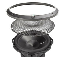 """RockFord Fosgate P3SG-8 8"""" Subwoofer Shallow Grille Insert Stamped Sub Mesh"""