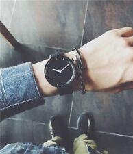 2018 new fashion simple black watch BGG male wrist watches gifts stylish men