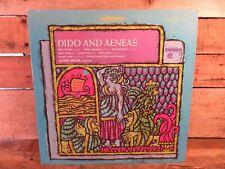 Purcell Dido and Aeneas Alfred Deller LP Record Album Vinyl