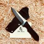 Messer/ Outdoormesser Kiku Matsuda Knives, Kawa Kaze, SPG2 Damaststahl, G10