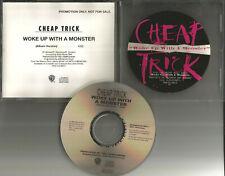 Robin Zander CHEAP TRICK Woke up with a Monster PROMO DJ CD Single 1994 USA