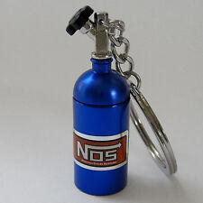 NOS Bottle Keychain Keyring Nitrous Pill Stash Box - Ships from USA