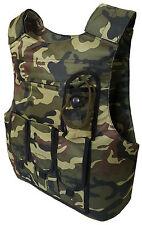 Neu Weste Schutzweste Woodland Pistolenmagazintaschen Taktische Body Armor Vest