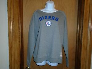 Philadelphia 76ers Mitchell & Ness Women's Sweatshirt Medium or XL NWT