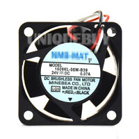 0.07A  with Alarm Drive Special Fan for NMB 1608KL-05W-B39 24V 0.08A 3pin