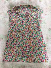 Delightful BODEN Floral Cotton Pull On Tunic-size 8. Mulitcoloured VGC