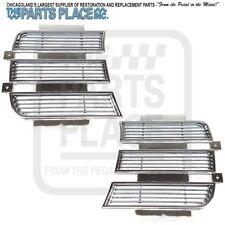 1969-69 Camaro RS Chrome Inner Head Lamp Covers LH/RH - Pair 3958006 / 3958005