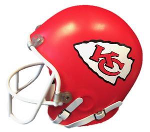NFL KANSAS CITY CHIEFS FULL SIZE FOAM HELMET HEAD NEW FOAMFANACTICS MAHOMES