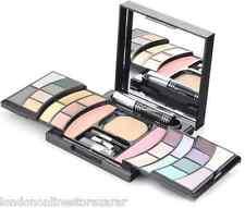 Eyeshadow, Blush, Lipgloss, Concealer, Foundation, Mascara & Brushes Makeup kit