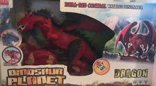 Remote Control RC Dragon Walking Dinosaur Lights & Sounds Kid Pet Toy Animal