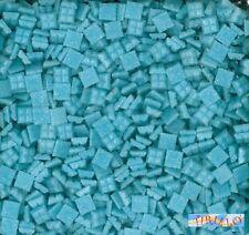 MOSAICO -Tessere mosaico pasta vetro 1x1 cm- 200g/300 pz - Celeste
