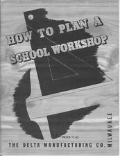 Delta Rockwell How To Plan A School Workshop Instructions