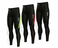 Sparx Men's Long Warm Soft Shell Cycling Thermal Bib Tights Non Padded Blk