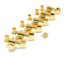 Schaller Gold LOCKING 6 Inline Tuners for Strat/Tele® Guitar TK-0974-002