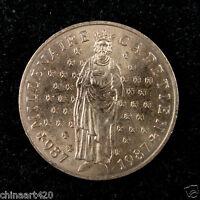 FRANCE 10 Francs Coin 1987