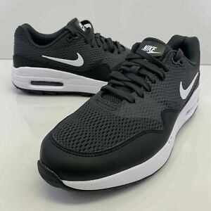 Nike Air Max 1 G Spikeless Golf Shoes Mens Black Anthracite CI7576-001 Size 11