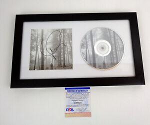Taylor Swift Cardigan Signed Autograph Folklore CD Framed PSA/DNA COA I