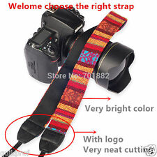 Retro Vintage DSLR Camera Neck Shoulder Strap Belt for Sony NEX Canon NIKON V2
